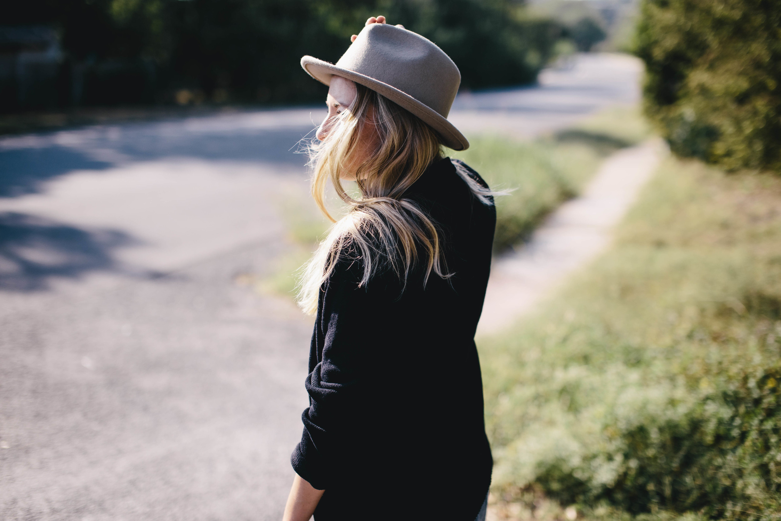 Hat:  Weather Coalition   Swetarer:  Slumlove Sweater Co.