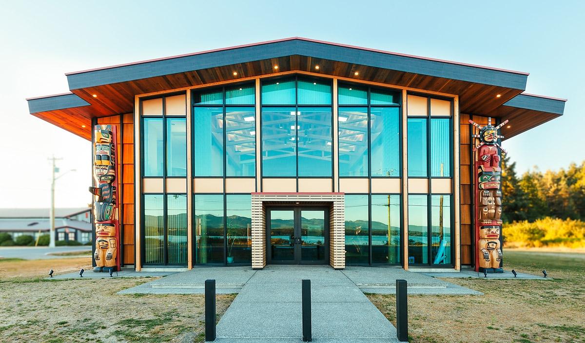 K'ómoks First Nations Administration Building