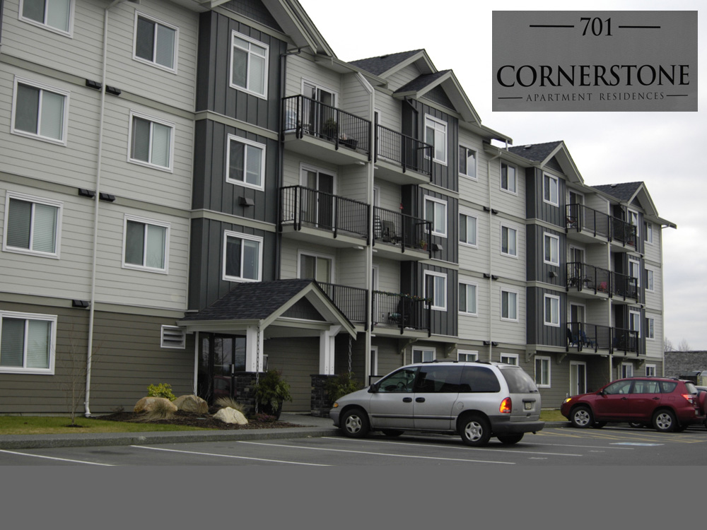 Cornerstone Apartments, Campbell River