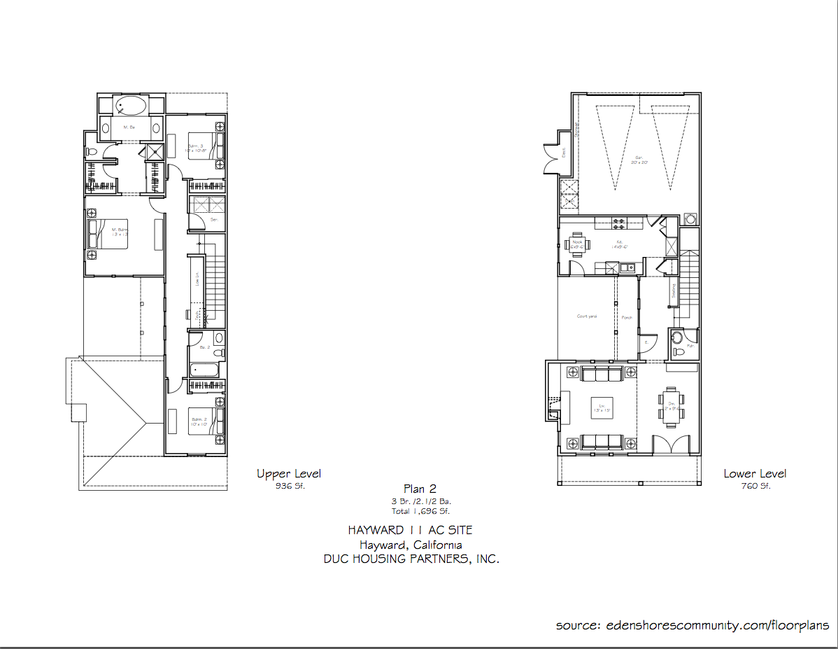 The Crossings at Eden Shores - Plan 2