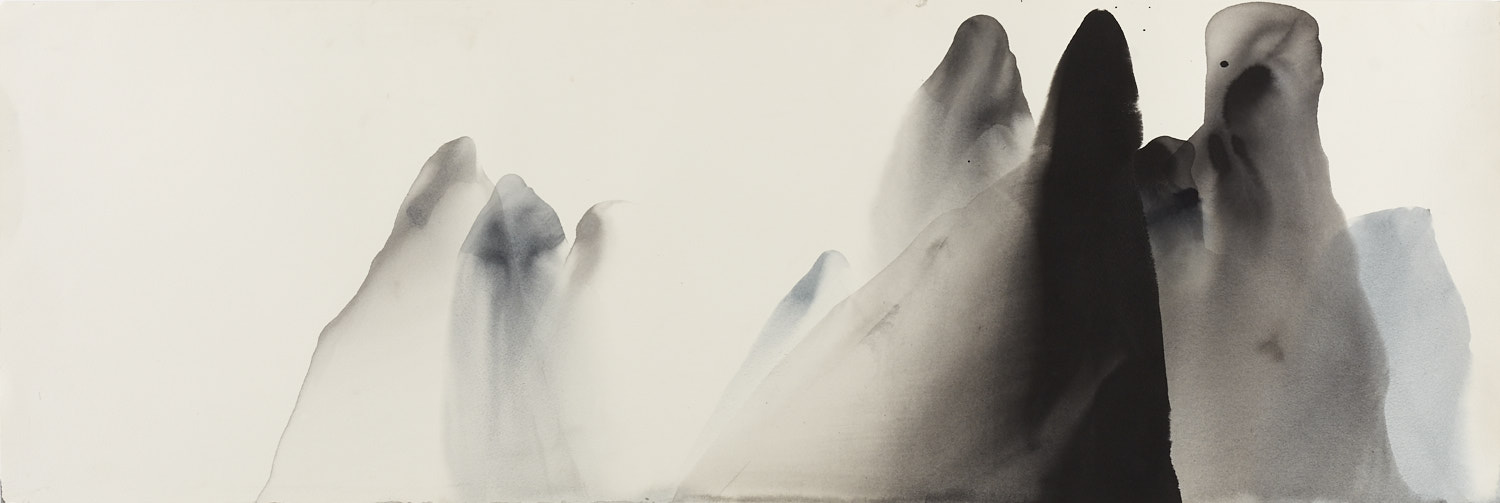 Li River 1, 111 x 38cm, Ink on paper