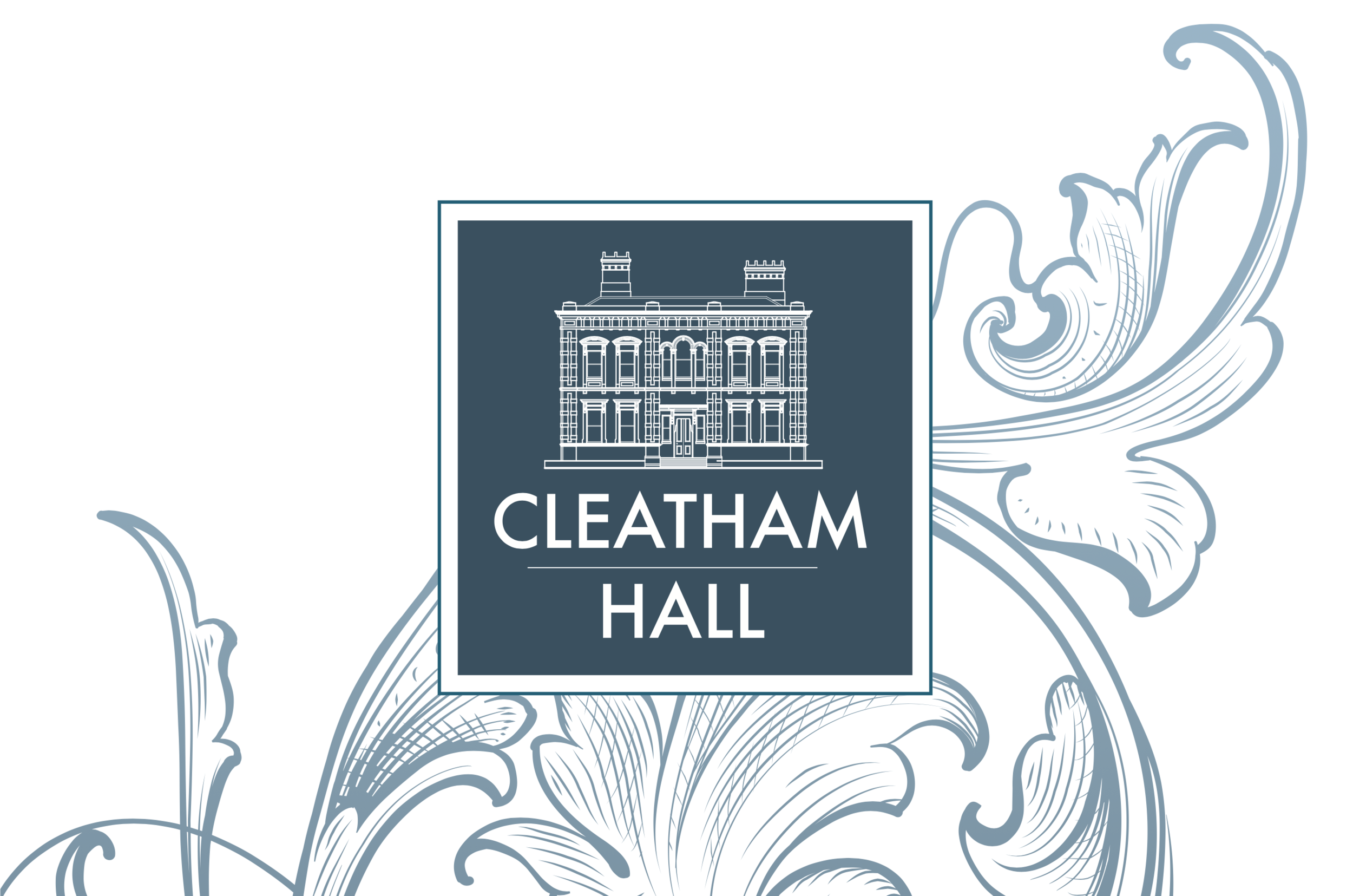 Cleatham Hall logo and scrolls.png
