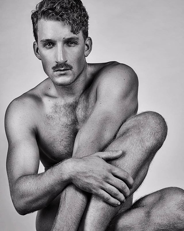 Archive shot of the gorgeous Josh . In @garofali . . . #muscle #pecs #abs #ripped #tan #pose #art #menintights #mesh #retro #moustache #curlscurlscurls #curls #portrait #photography #photooftheday