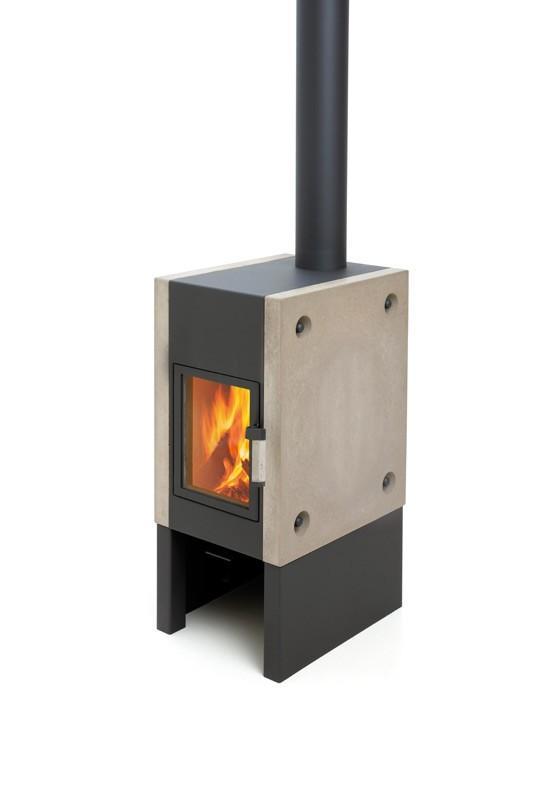 Harrie Leenders Boxer Plus Wood Burning Stove