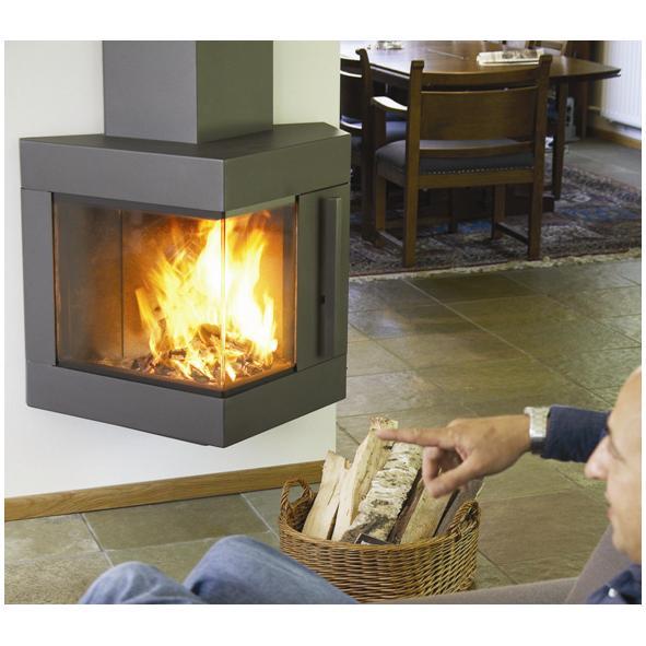 Harrie Leenders Trias Wood Burning Stove
