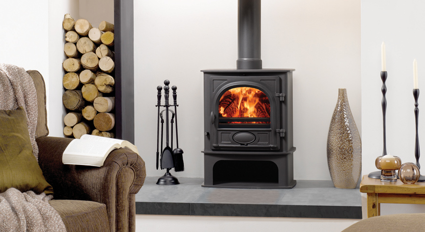 Stovax Stockton 5 Midline Wood Burning Stove