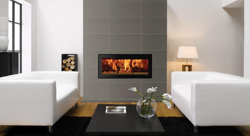 Stovax Riva Studio Edge Wood Burning Stove