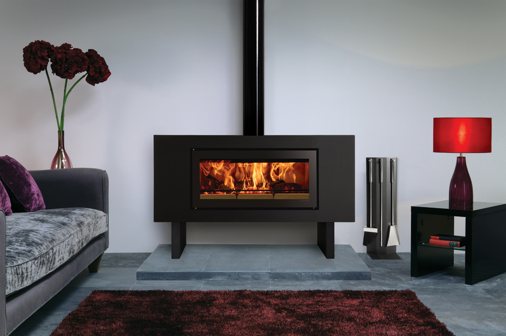 Stovax Riva Studio Bench Steel Wood Burning Stove