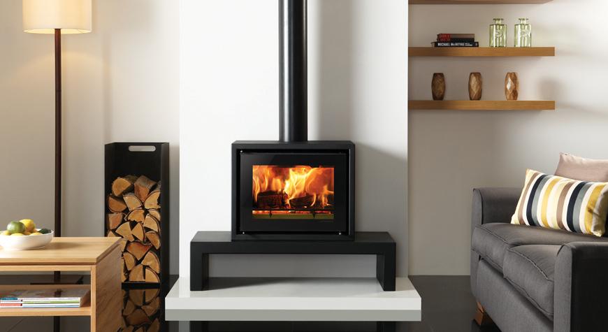 Stovax Riva Studio 500 Freestanding Wood Burning Stove