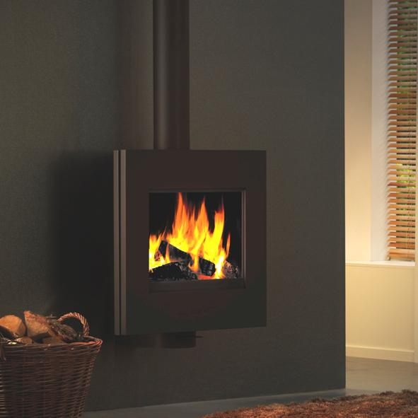 Harrie Leenders Dia Rotatable Wood Burning Stove