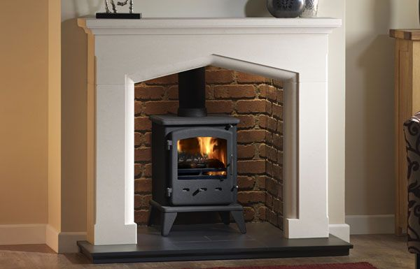 Swinford Fireplace surround in Agean Limestone Surround