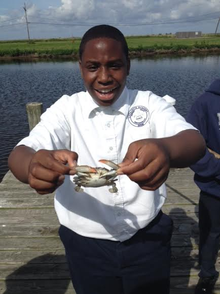Crustacean appreciation at Myrtle Grove Marina!