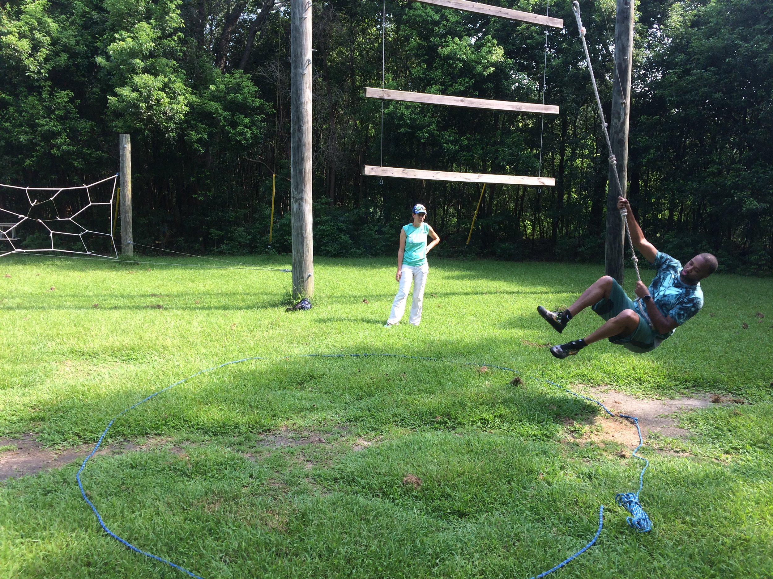 The Net Charter School - Low Ropes City Park Challenge Course.JPG