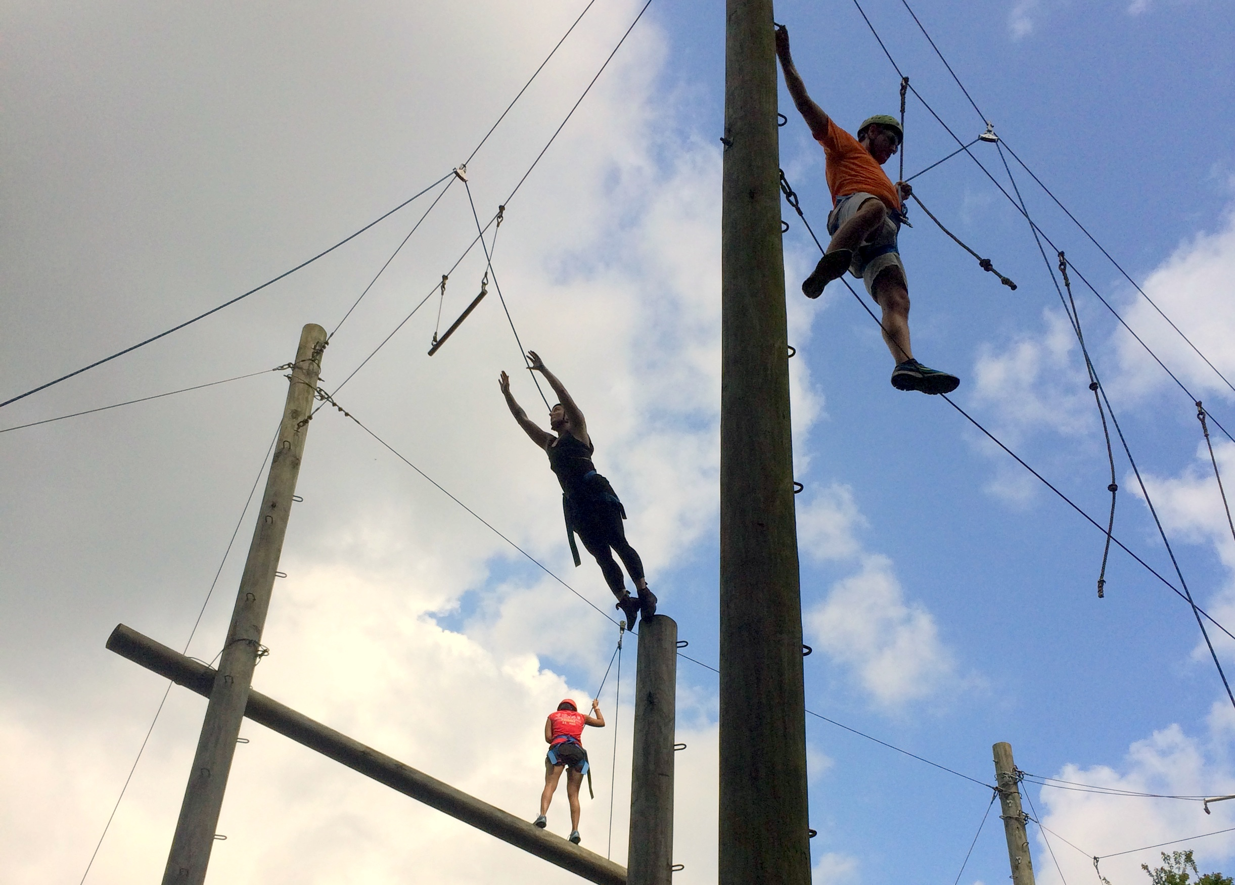 A.B. Freeman School of Business at Tulane University - High Ropes.JPG