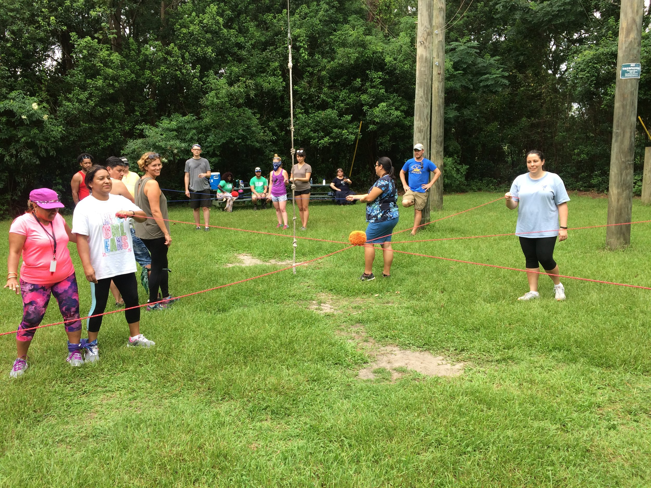 International School of Louisiana Teachers - City Park Challenge Course.JPG