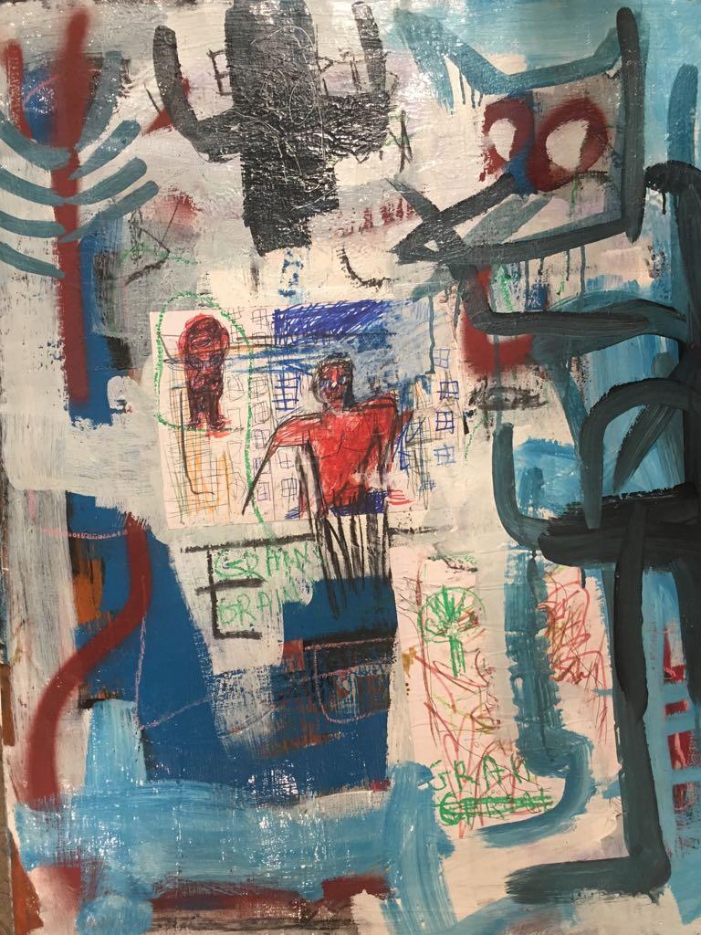 Ehoodi Kichapi , Grain, 2017 Mixed Media on Canvas, 79w x 95h.jpeg