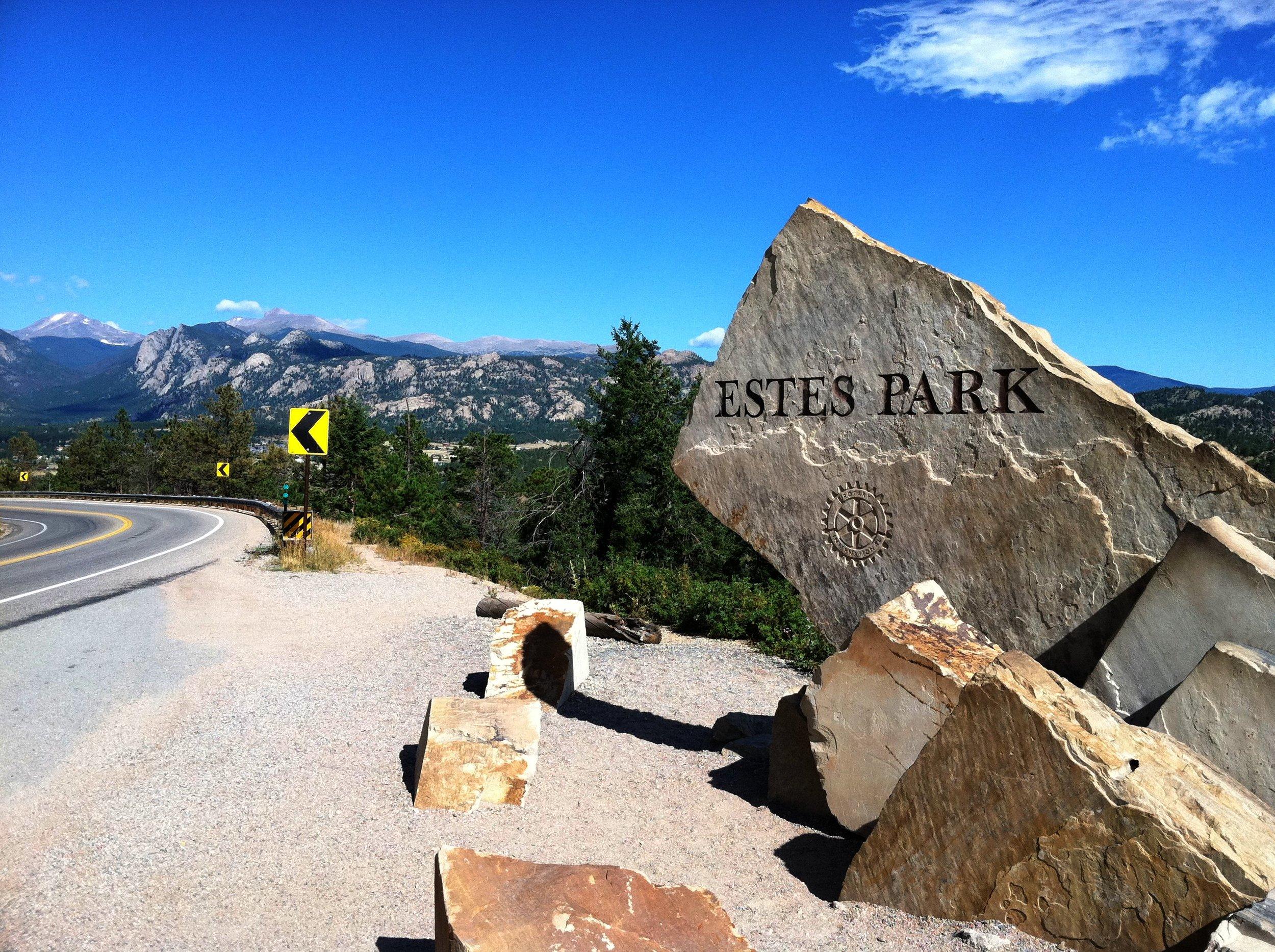 """Estes Park Sign"" cc image courtesy of Mr.Tindc on FLICKR"