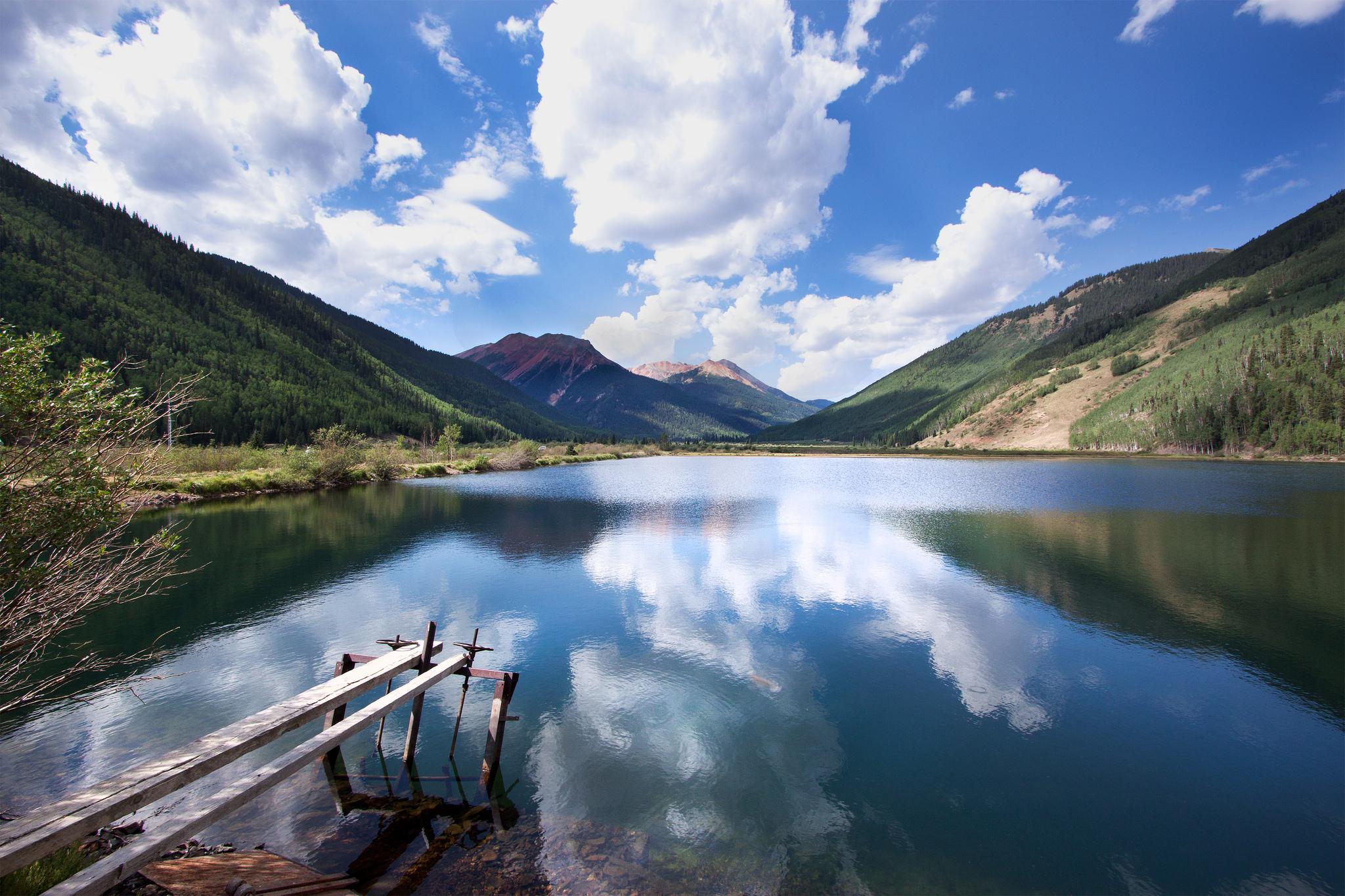 """Crystal Lake Reflection"" cc image courtesy of alan Stark on FLICKR"