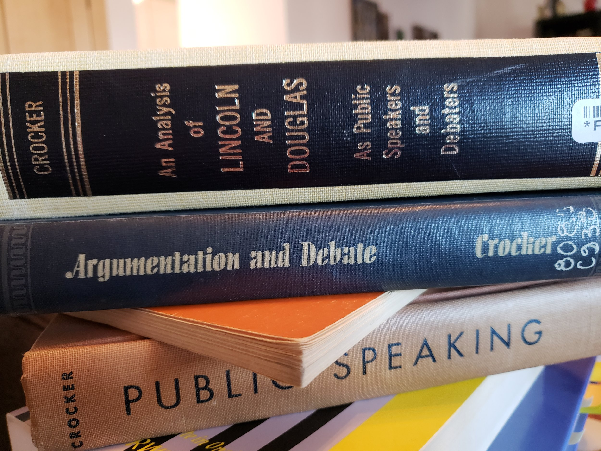 books by Professor Lionel Crocker, Ph.D.
