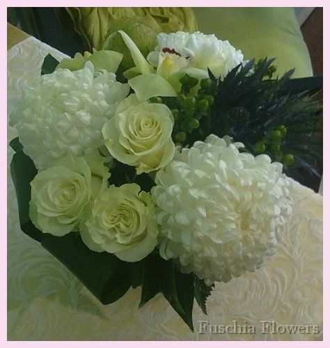 blue thistle, mondial roses and football mums.jpg