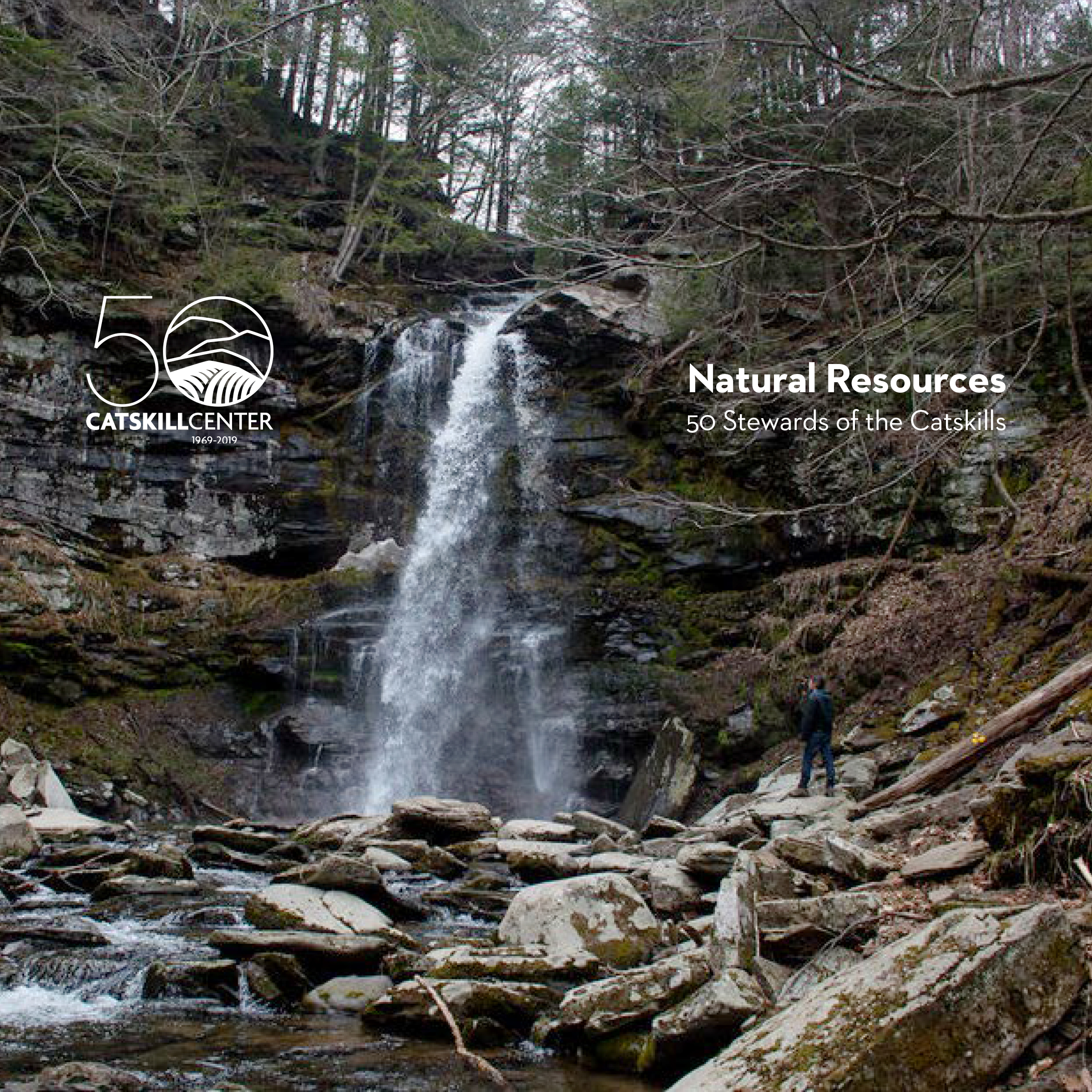 a new Catskill Center publication, Natural Resources: 50 Stewards of the Catskills, will be unveiled - The Catskill Center continues its 50th anniversary celebration this year with the publication of Natural Resources: 50 Stewards of the Catskills.This book celebrates 50 individuals in the region for their contributions to the Catskills' environment, economy and culture.Meet the book — and the stewards.