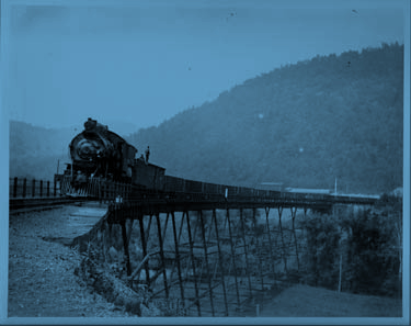 The Great Grand Gorge Train Robbery - by Kelli Huggins