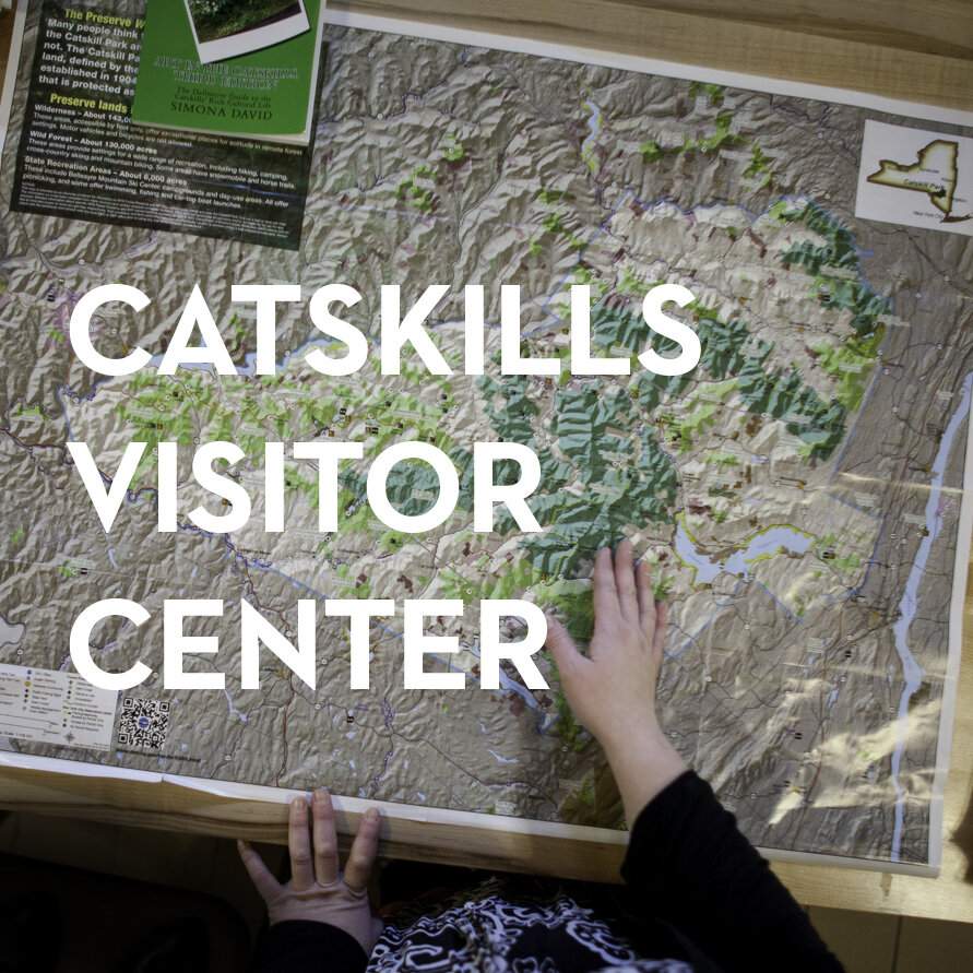 Find a trail, get a book, - learn something new and grab a little wifi at the Catskills Visitor Center.Maurice D. Hinchey's fantastic notion of an Interpretive Center in the Catskills has been realized (and continues to evolve) on Route 28 in Mt. Tremper.Learn more.