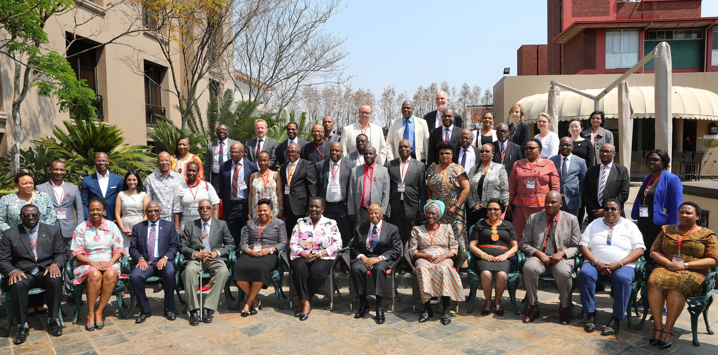 Champions with African Ministers, Deputy Ministers, Permanent Secretaries, Parliamentarians and SADC Parliamentary Forum, National AIDS Councils, UNAIDS, Civil Society Development Partners, Private Sector and HEARD
