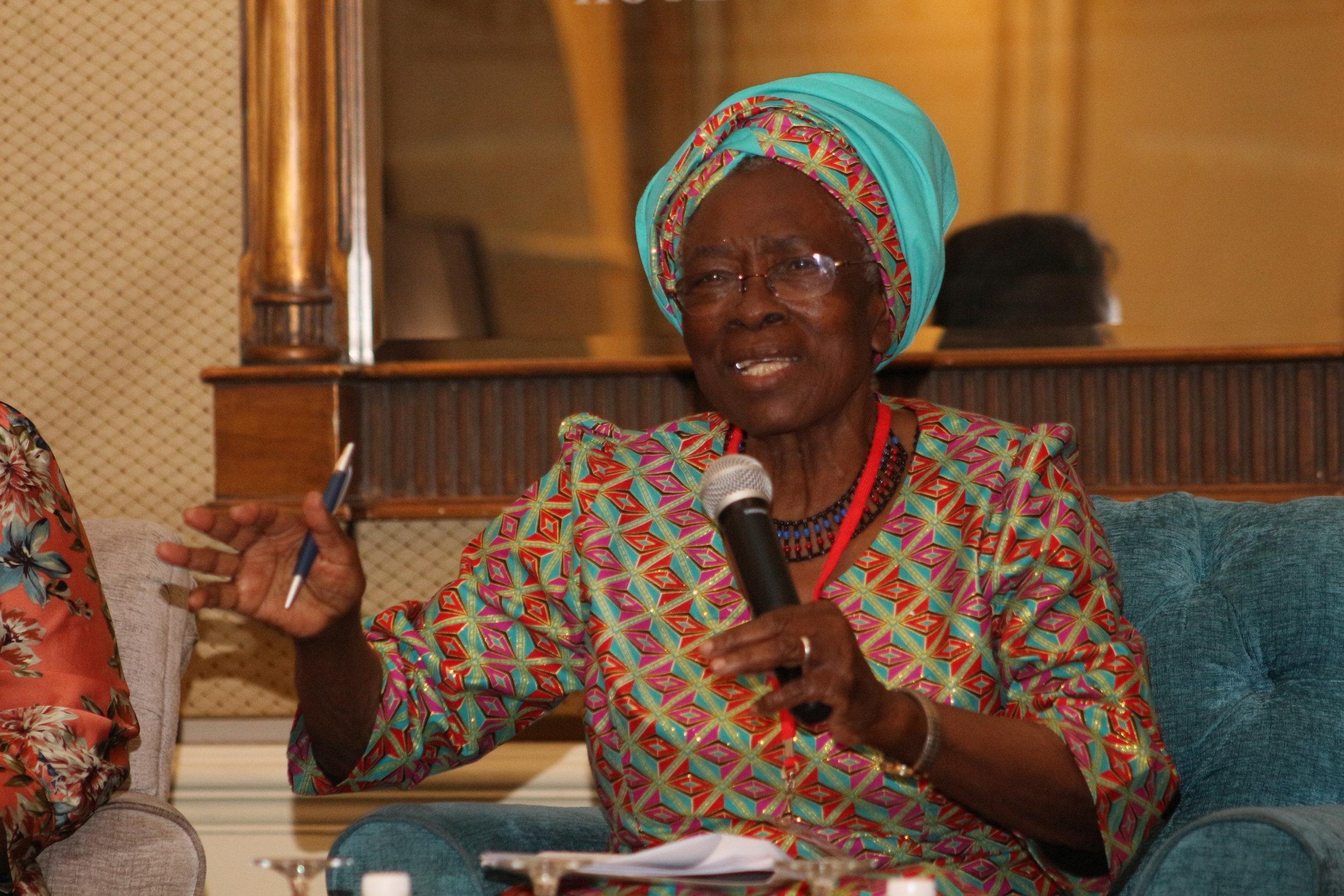 Champion Prof. Miriam Were