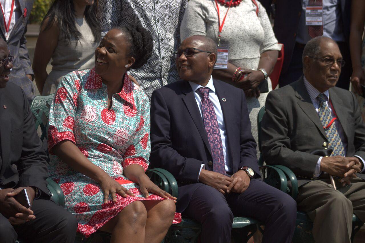 Dr. Catherine Sozi and Dr. Mbulawa Mugabe