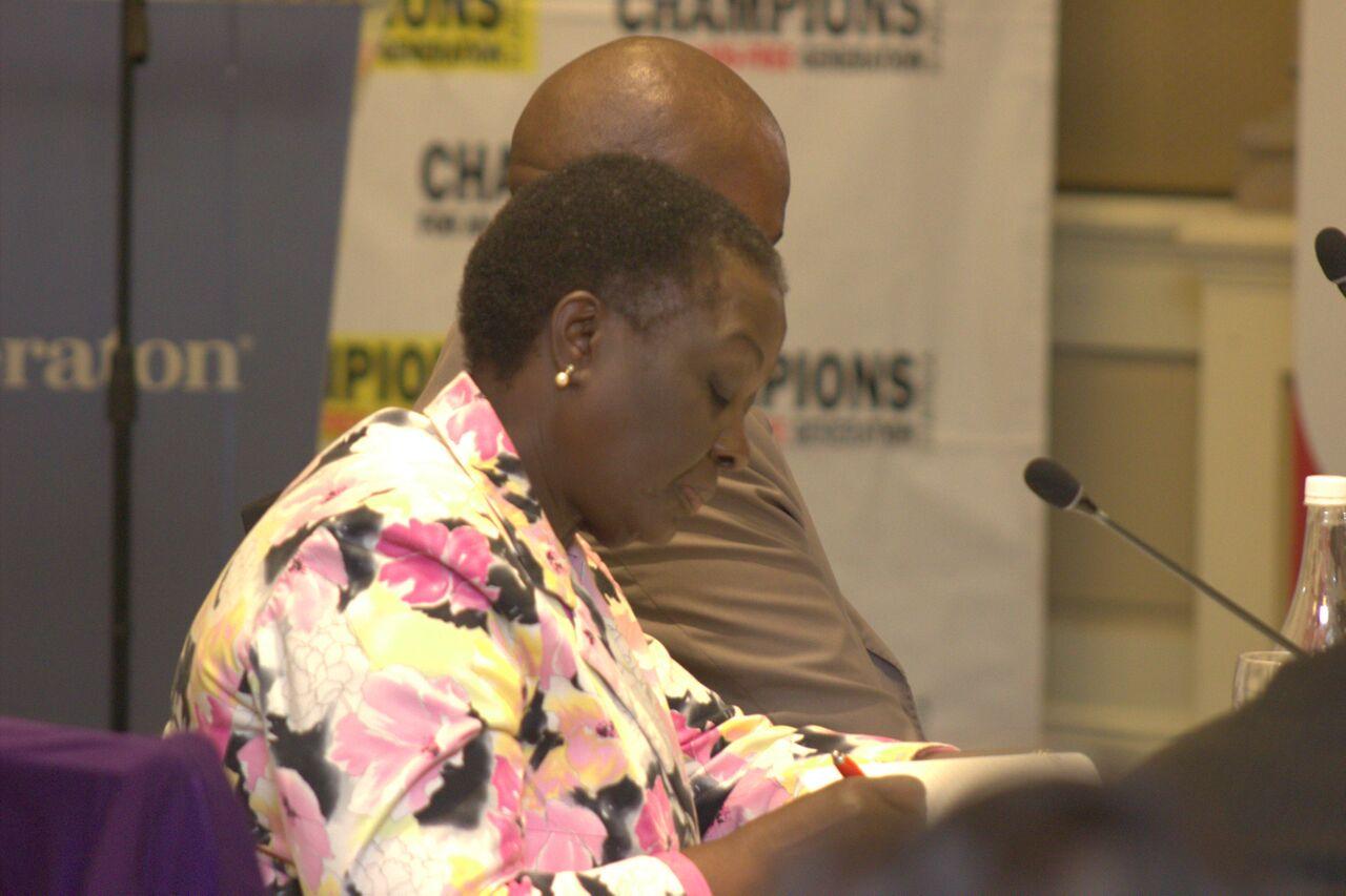 Champion Speciosa Wandira- Kazibwe