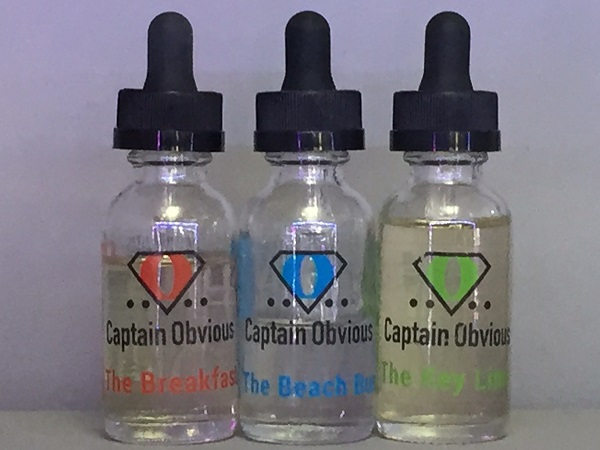 Captain Obvious is a lesser known brand of eJuice that is growing in popularity rather quickly