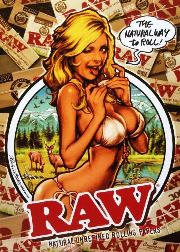 Rockin' Jelly Bean is an Adult comic artist (ComiXXX) that does rolling paper advertisement work for RAW