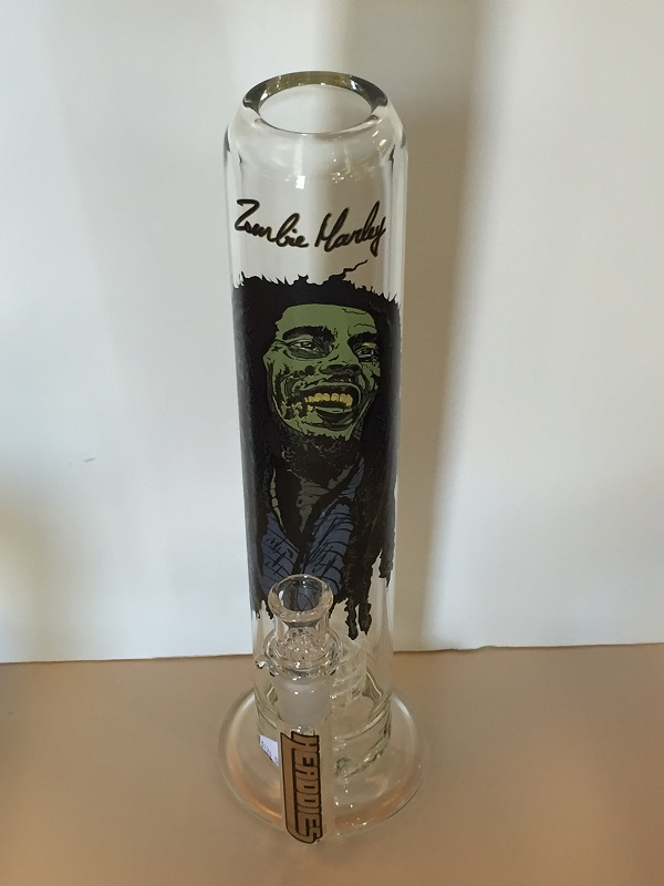 Rare Zombie Marley Water Pipe From Headdies.  Very durable and very rare.