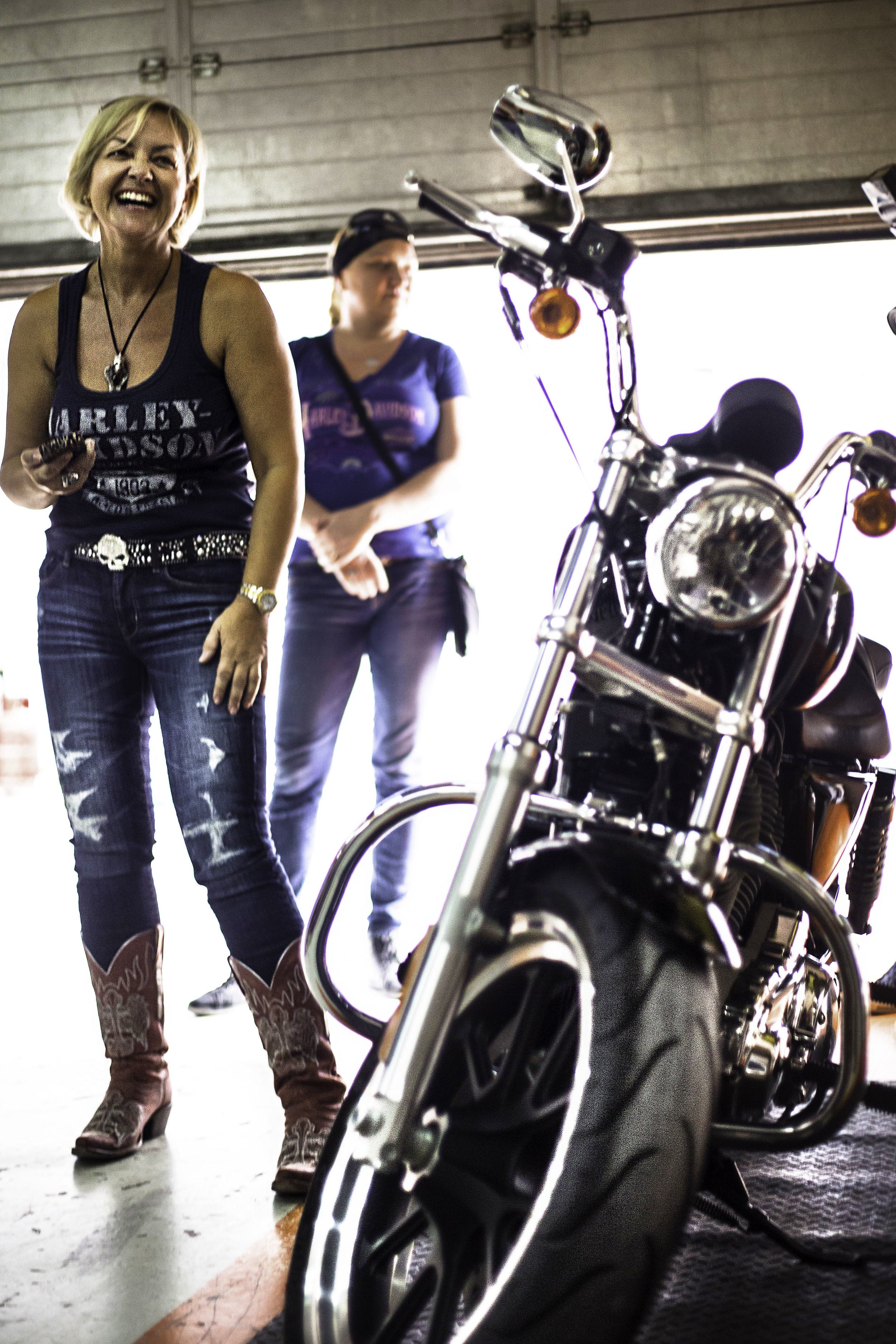 Dubai Ladies of Harley Officer Susanne Kruppa.jpg