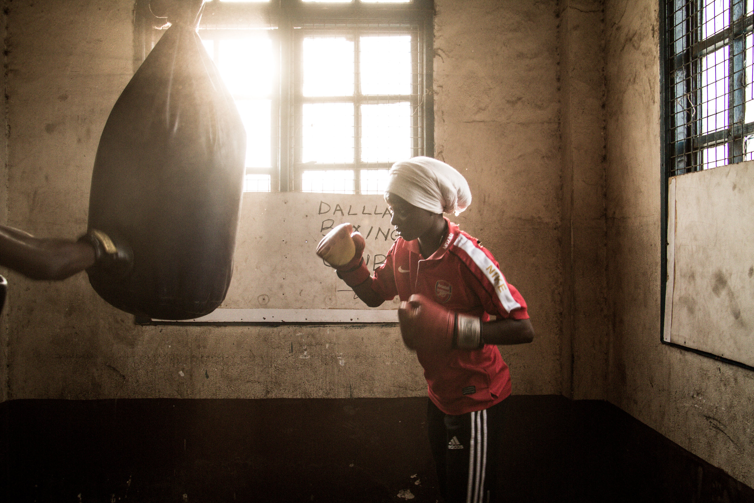 Boxing for Change -