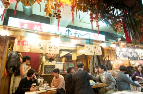 Popular with the younger set, the atmosphere in a new yokocho still offers the nostalgic charm of days gone by.