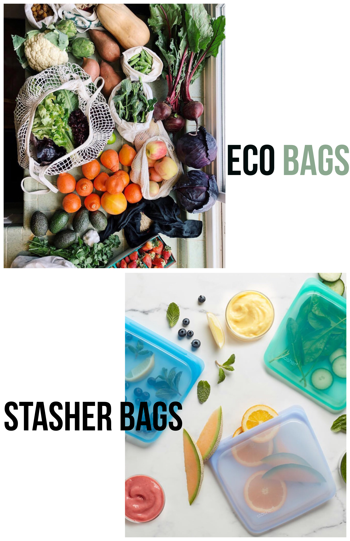 Stasher Bags and  Eco Bags