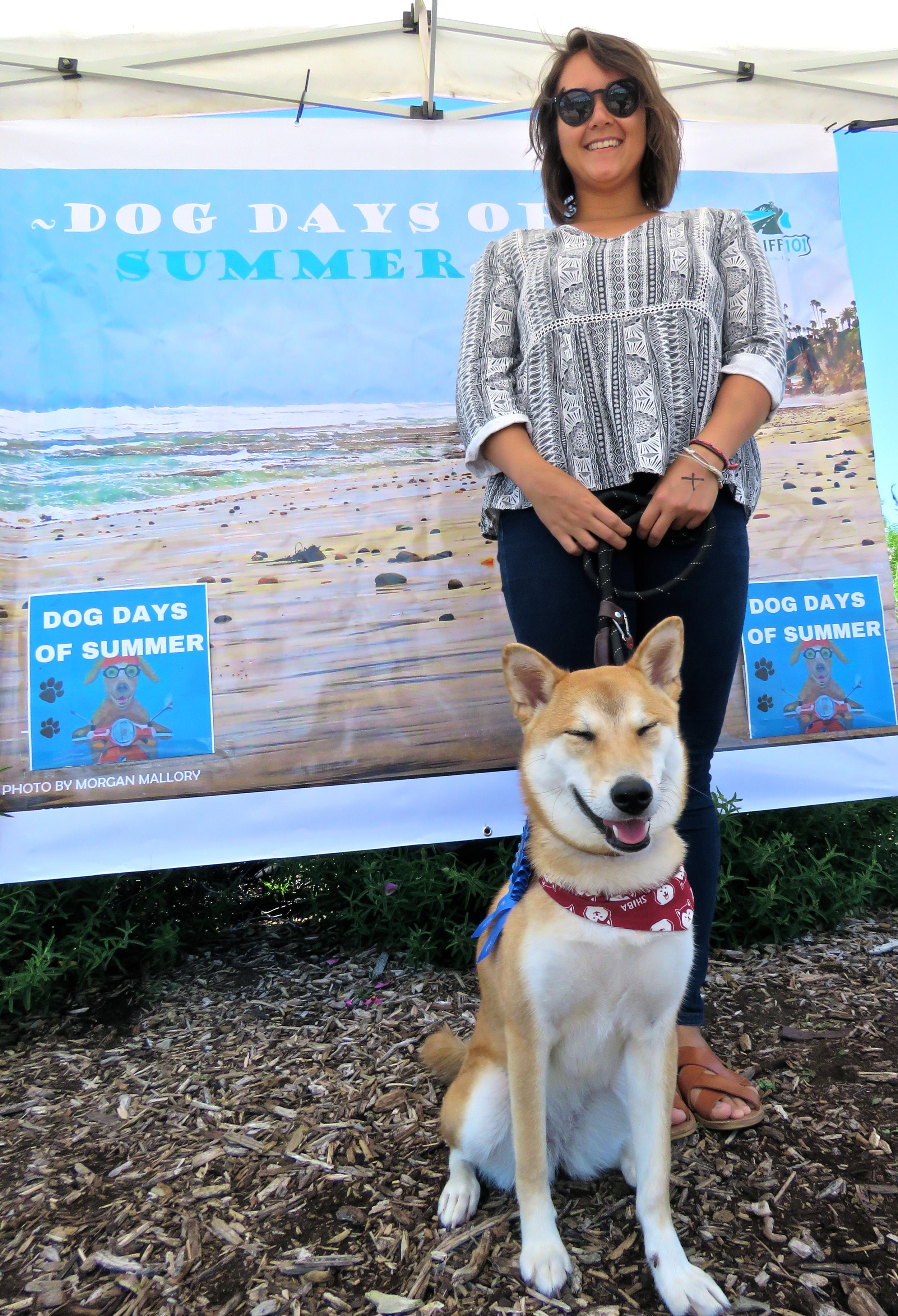 - Saki won 1st Place Best Looking Medium Dog