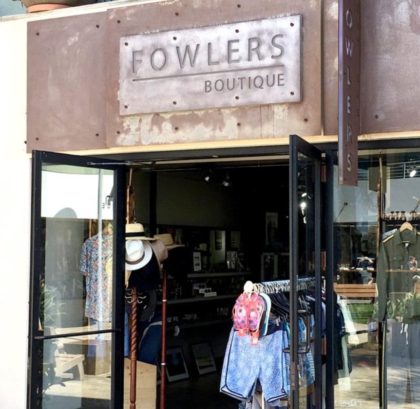 Fowler's Boutique - 2029 San Elijo Rd. Cardiff, Ca760.487.1440