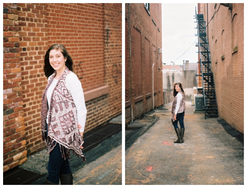 I made her be my model for a few shots downtown.