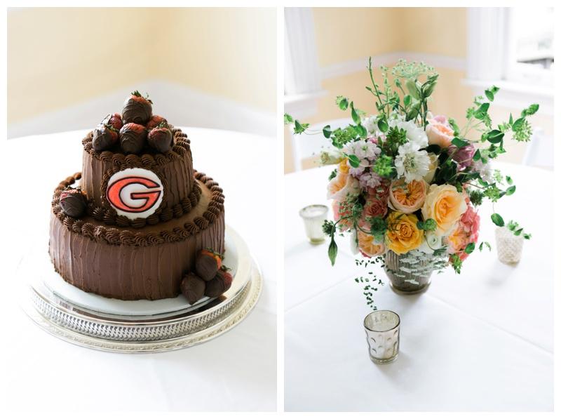 uga grooms cake savannah wedding photographer