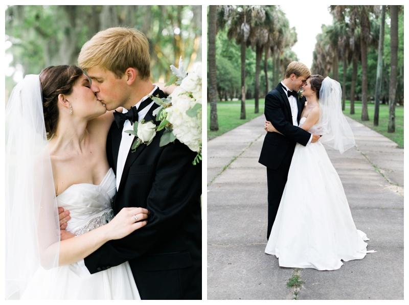 bride and groom savannah wedding photographer