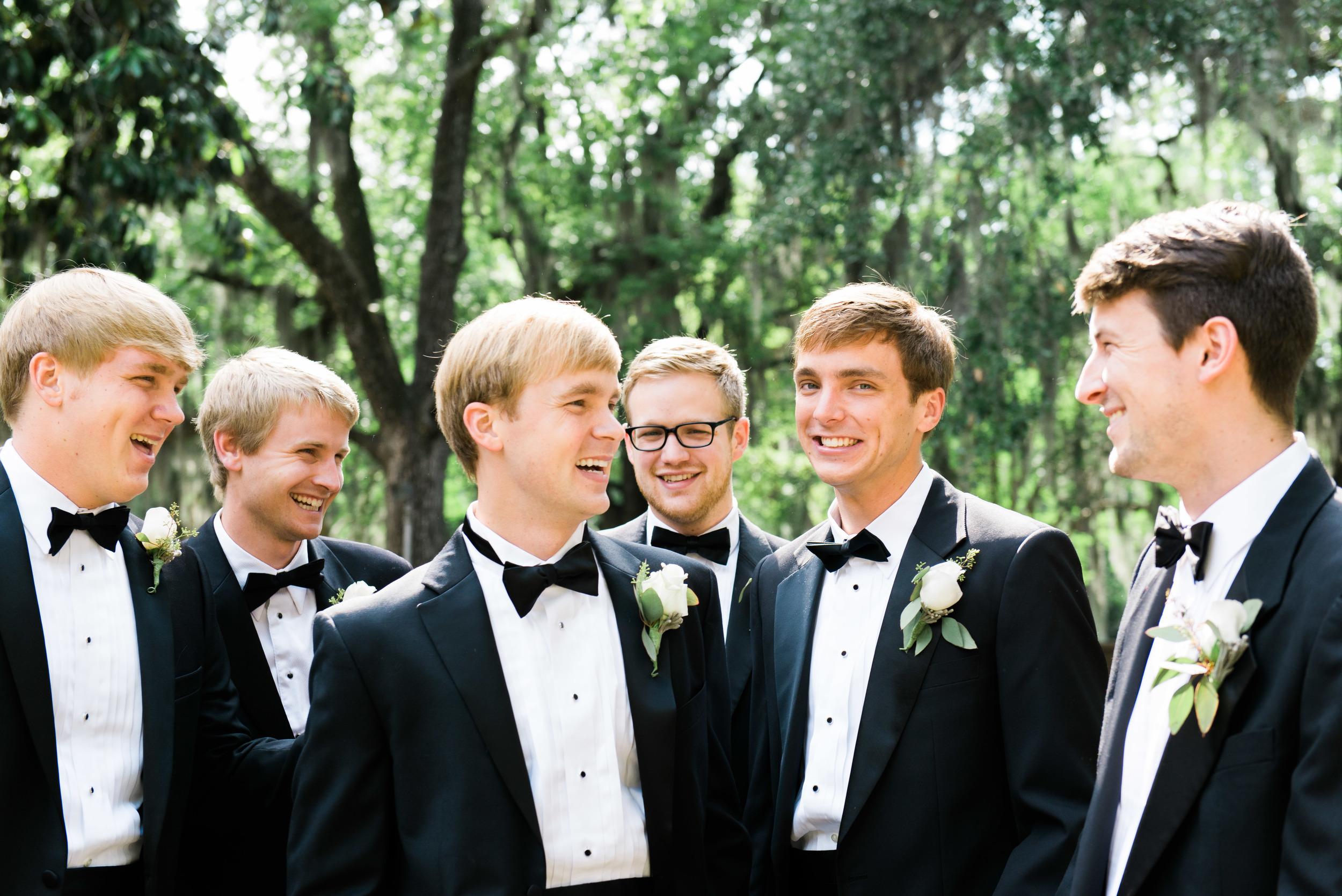 groomsmen savannah wedding photographer