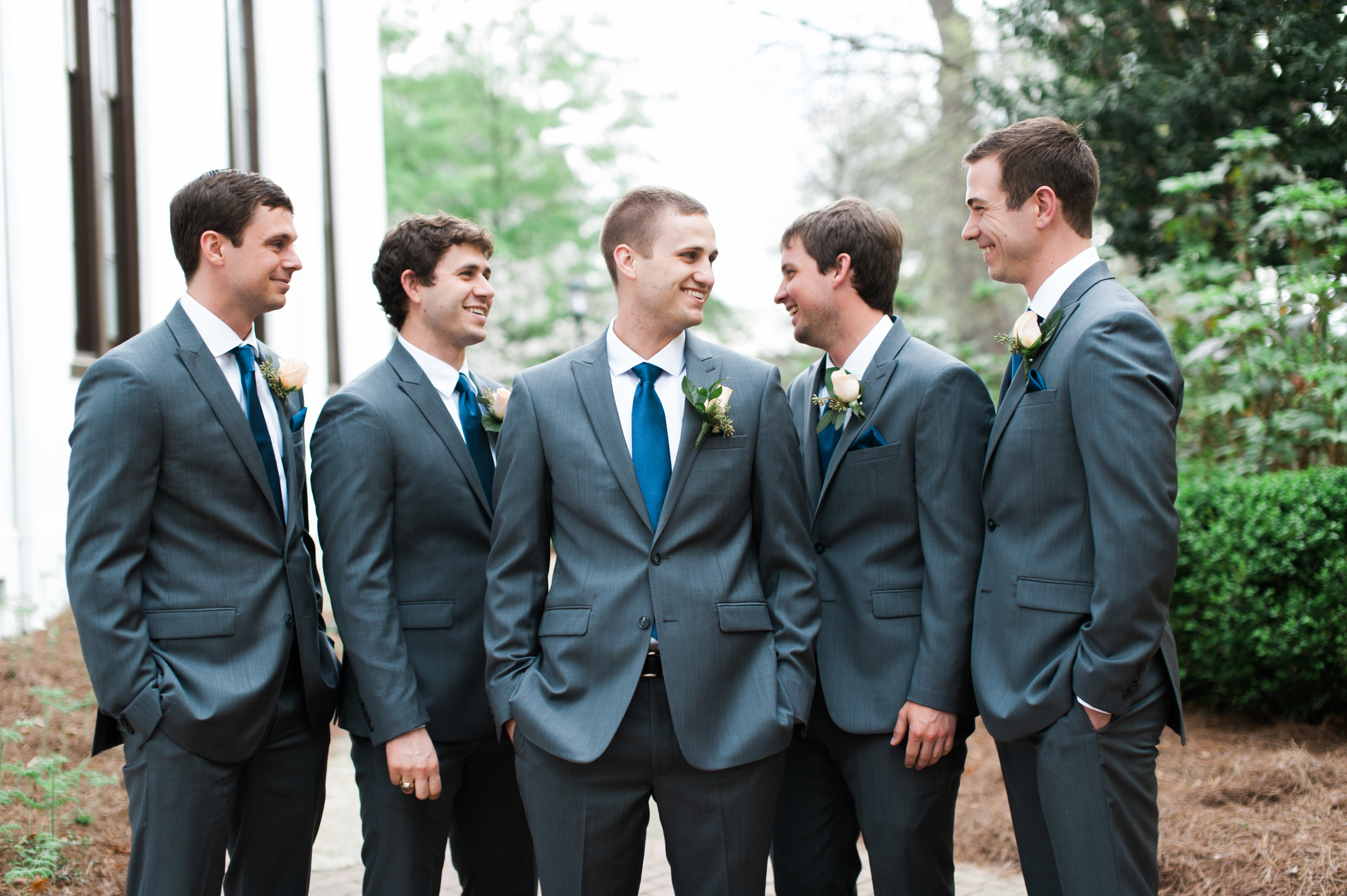 uga groomsemen athens wedding photographer