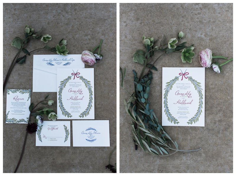 elum designs invitation suite atlanta wedding photographer