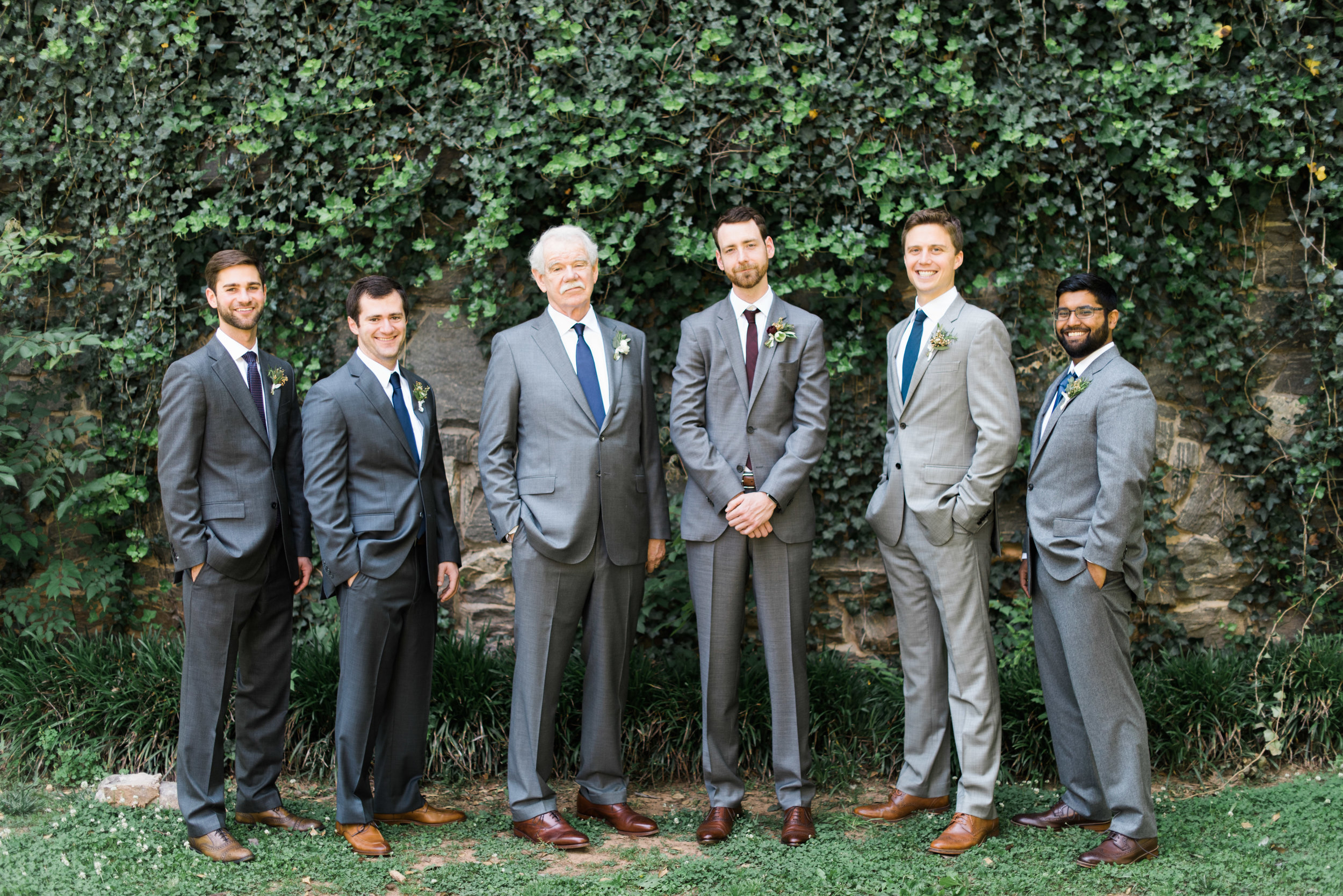 groomsmen the greystone at piedmont park atlanta wedding photographer