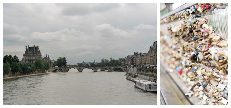 seine love locks paris france travel photographer