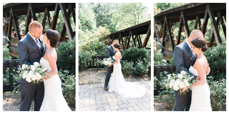 bride and groom roswell mill atlanta wedding photographer