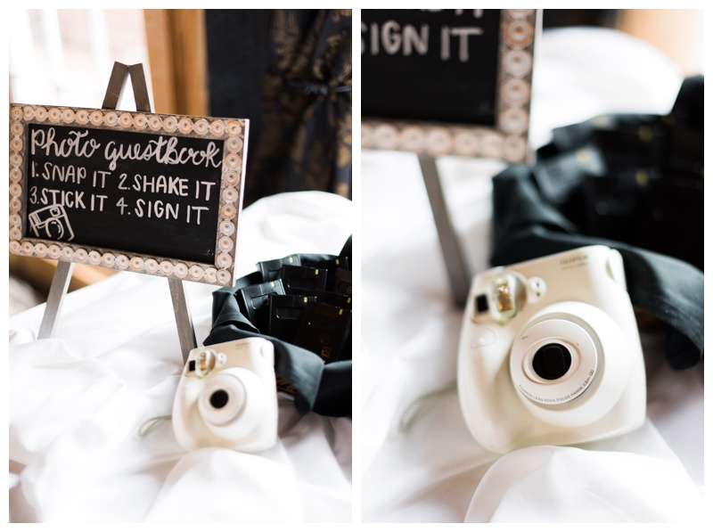 instax camera photo booth ivy hall roswell georgia wedding photographer